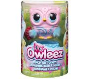 Spin Master Owleez Hooty rose figurine interactif