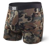 Saxx - Vibe Boxer Modern Fit Woodland Camo - Homme - Taille : L