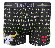 Snowleader - Zoé Boxer Black - Homme - Taille : S