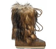 Moon Boot - Moon Boot Classic Faux Fox/Tartan Whisky - Femme - Taille : 39/41