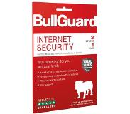 BullGuard Internet Security -DACH/BNL Retail 1Y/3 device 10x