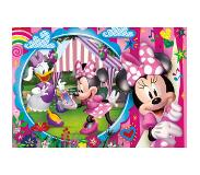 Clementoni Clementoni- Floor Puzzle-Minnie Happy Helpers 40 pièces-Disney, 25462, Multicolore