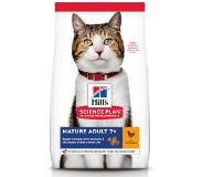 Hill's Pet Nutrition Hill's Science Plan Feline Mature avec Poulet 1,5 kg