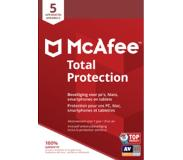 McAfee Antivirus Total Protection 2019 / 5 appareils FR/NL