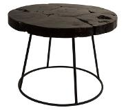 Dutchbone Table d'appoint industrielle Mina