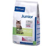 Virbac Veterinary Hpm Junior Neutered – Kattenvoer 3kg