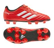 Adidas Copa 20.4 FG J, Chaussure de Football garçon, Active Red/FTWR White/Core Black, 38 2/3 EU