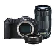 Canon EOS RP + EF - RF mount adapter + EF 70-300mm F/4-5.6 IS II USM