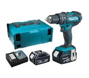 Makita DHP482RMJ - Set de Perceuse visseuse à percussion 18V Li-Ion (2x batterie 4,0Ah) dans MAKPAC