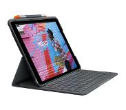 Logitech Slim Folio Étui Clavier Apple iPad (2019)/(2020) AZERTY
