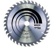 Bosch Lame de scie circulaire Optiline Wood 190x20/16mm T36