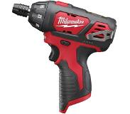 Milwaukee M12 BSD-0 - Perceuse visseuse Li-Ion 12V (machine seule) - 20Nm