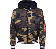 Alpha industries Veste mi-saison 'MA-1 TT Hood Defense'