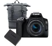 Canon EOS 250D + 18-55mm IS STM compact + BP10 tas + LP-E17 accu