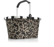Reisenthel Panier à provisions carrybag 48 x 29 x 28 cm 22 l, Polyester, Taupe (Baroque Taupe), 48 cm