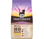 Hill's Pet Nutrition Hill's Ideal Balance Mature Adult No Grain pour chat 1,5kg