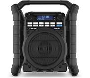 Perfectpro TEAMPLAYER 2 Radio de chantier - FM RDS - DAB+ - bluetooth - aux-in - Fonctionne avec batterie ou alimentation secteur