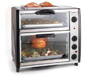OneConcept All-You-Can-Eat Four double avec grill 42 litres 2400 W