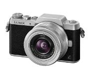 Panasonic Appareil photo hybride Lumix DMC-GF7 Silver + 12-32 mm