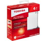 Toshiba Disque dur externe 4 TB Canvio Advance Blanc