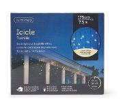 Lumineo Éclairage LED Icicle Twinkle 7,5 m