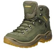 Lowa Chaussure Renegade Mid Gore-Tex pour femme - Vert - Tailles : 3.5, 4, 4.5, 5, 5.5, 6, 6.5, 7, 7.5