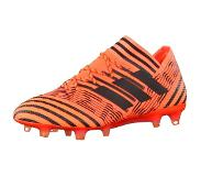 Adidas Nemeziz 17.1 FG, Chaussures de Football Homme, Multicolore - Orange/Noir/Rouge (Narsol/Negbas/Rojsol), 44 2/3