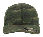 Flexfit Casquette 'Garment Washed Camo'