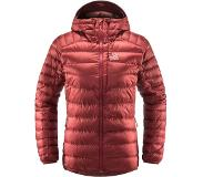 Haglöfs - Roc Down Hood Women Brick Red - Femme - Taille : S