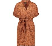 Vero Moda Robe annabell 2/4 Short Wrap Wvn pour femme - Orange - Tailles : XS, S, M, L, XL - Nouvelle collection