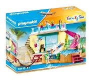 Playmobil Family Fun Bungalow Avec Piscine 70435