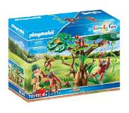 Playmobil Orangs outans avec grand arbre 70345