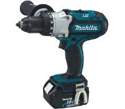 Makita BDF451RFE - Set perceuse visseuse Li-Ion 18V (2x batterie 3.0Ah) dans mallette - 80 Nm