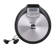 Silva MCD50 Lecteur CD Portable CD, CD-R, CD-RW, MP3 Touches sensibles, Aluminium (Mat), SC