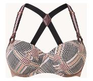 Marlies Dekkers Soutien-gorge balconnet Gloria à imprimé tweed