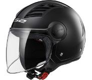 LS2 Casque moto of562 Airflow, Matt Black Long, XS