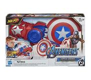 Nerf Avengers – Gant Captain America lanceur disque-bouclier Nerf Power Moves