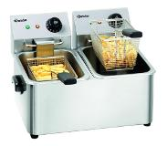Bartscher SNACK II Friteuse 8 L Double Acier inoxydable Stand-alone (placement) 4000 W
