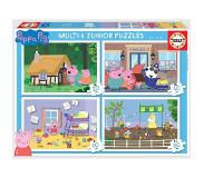 Educa Peppa Pig Ensemble de Puzzles pour Enfants, Multicolore (18645)