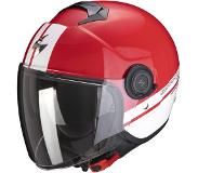 Scorpion EXO-CITY STRADA Red-White-White XL