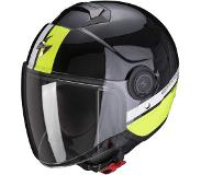 Scorpion EXO-CITY STRADA Pearl Black-White-Neon Yellow XL
