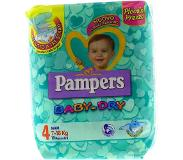 Pampers Baby Dry Lot de 152 couches pour bébé, taille 4 ampers