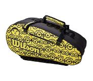 Wilson Sac de Tennis Wilson Minions Tour 12PK Black Yellow