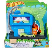 Hot Wheels Set de jeu station d'essence