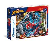 Clementoni - 23716 - Supercolor Puzzle - Spiderman - 104 Pièces