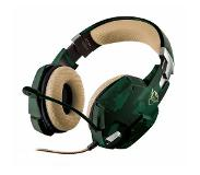 Trust GXT 322C Gaming Headset - green camo