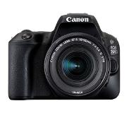 Canon EOS 200D + EF-S 18-55mm 4.0-5.6 IS STM Kit d'appareil-photo SLR 24.2MP CMOS 6000 x 4000pixels Noir