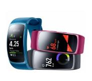 Samsung Gear FIT 2 SM-R3600 Écouteurs Bluetooth Level U inclus bleu