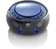 Lenco Radio CD portable Bluetooth SCD-550 Bleu