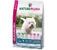 Eukanuba NaturePlus+ Adult Small Dog saumon pour chien - 14 kg